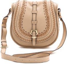 orYANY Morgan Saddle Bag ($179) ❤ liked on Polyvore featuring bags, handbags, shoulder bags, purses, bolsas, accessories, sand, shoulder strap handbags, leather crossbody and shoulder handbags
