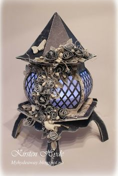 Japanese paper lantern. Made by Kirsten Hyde.