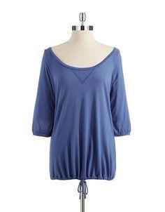 La Perla Cashmere Night Shirt Women's Blue Large