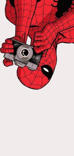 Wonder Comics every day! - dailyspiderman: The Amazing Spider-Man: Learning . Spiderman 2, Spiderman Drawing, Amazing Spiderman, How To Draw Spiderman, Crazy Wallpaper, Pop Art Wallpaper, Cartoon Wallpaper, Garfield Wallpaper, Bd Comics