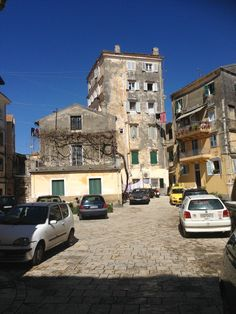Corfu Greece, Street View