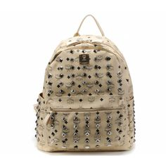 2013 MCM Backpack New Arrival Fashion Beige