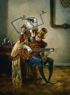 Muse Art by Michael Cheval Surreal illusion art Fantasy Art whimsical Art Surrealism Painting, Pop Surrealism, Art Visionnaire, Magic Realism, Wassily Kandinsky, Surreal Art, Belle Photo, Contemporary Artists, Art Forms