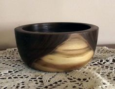 Salvaged Walnut Burl Bowl by chipsandshavings on Etsy, $26.00