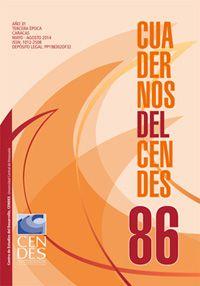 En Saber UCV puedes leer en acceso abierto y a texto completo la revista del CENDES #UCV
