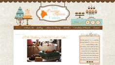 Blogger Custom Blog Design - The Orange Apron Cakery