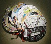 altered cds - great way to reuse all those old cd-roms