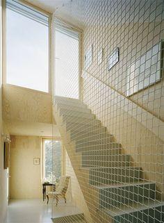 Garden House, Viksberg, 2008 #stairs #steps #interiors