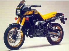 Yamaha TDR? First Japanese production type of Motard and running the awesome RZ motor... Via SuperMoto Magazin Australia