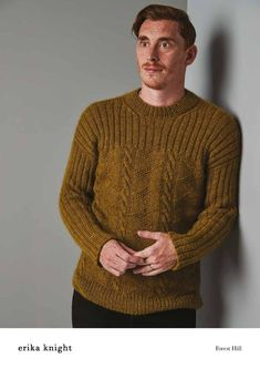 2f787952f Forest Hill Sweater in Erika Knight Wild Wool - 72001103 - Downloadable PDF  Knitting Pattern Forest