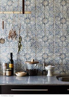 New Patterned Kitchen Tiles