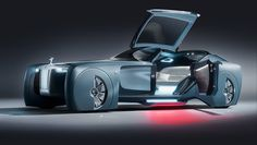 Rolls-Royce Unveils Futuristic Looking 103EX Self-Driving Concept Car