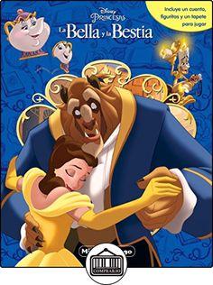 La Bella y la Bestia. Mi libro-juego (Disney. La Bella y la Bestia) de Disney ✿ Libros infantiles y juveniles - (De 0 a 3 años) ✿