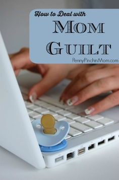 So many moms deal with this every day -- Mom Guilt! You are not alone and honestly - you do NOT need to feel guilty! We all should support one another and know we sometimes have to slip into survival mode (and that's OK)!