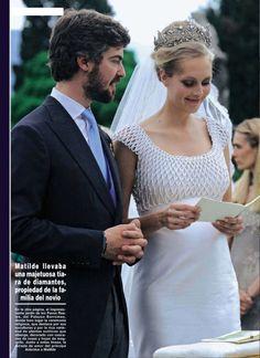 HSH Prince Antonius zu Fürstenberg and Countess MatildeBorromeo.