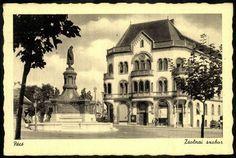 Pécs Zsolnai szobor   Képcsarnok   Hungaricana