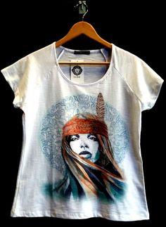 Boho Style   #camiseta #estampadigital #moda #boho #estilo #tshirt #atacado
