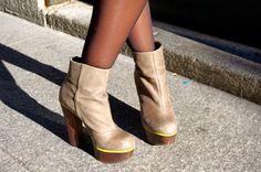 Betsey Johnson platform boots