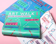 """Check out this @Behance project: """"Art Walk Mexico 