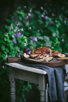Barbecue Plum Spatchcock Chicken Recipe + A How To Video - Adventures in Cooking Super Healthy Recipes, Healthy Foods To Eat, Barbecue Recipes, Grilling Recipes, Spatchcock Chicken, Grilled Chicken, Plum Sauce, Ginger And Honey, Healthy People 2020