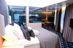 One of the innovative design suites aboard the brand new Viking Line ferry VIKING GRACE.  © www.vantaansanomat.fi