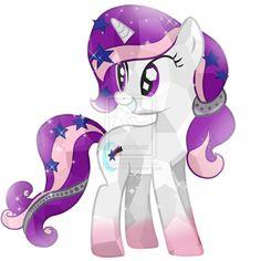 Comission-15 Harmony Night Crystal Pony by Posey-11.deviantart.com on @deviantART