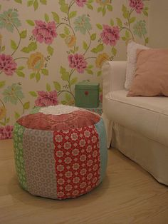 Floral inspired wallpaper.. big hit for this summer