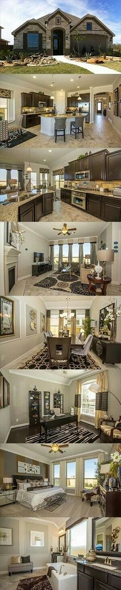 Beautiful home inspiration - full house tour of new transitional style Lennar home.