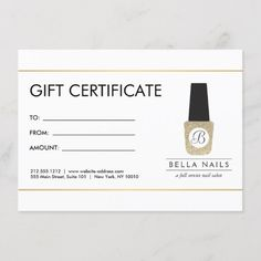 Printable Rose Gold Gift Certificate Template   Editable ...