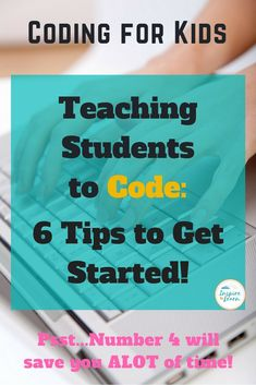 This coding for kids post describes some helpful tips for those beginners new to teaching computer programming. It gives teachers some ideas for lesson plans and projects, as well as some helpful apps to use, such as Scratch Programming. Computer Coding For Kids, Computer Teacher, Computer Lessons, Technology Lessons, Computer Science, Computer Programming, Gaming Computer, Kids Coding, Computer Projects