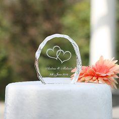 Cake Topper Garten Thema Kristall mit eleganten Hochzeitsfeier 2018 - €9.86