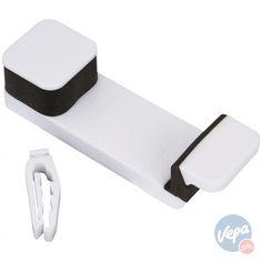 Mobiele telefoon houder voor in de auto Wit