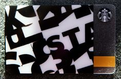 Strictly black and white. #StarbucksCard