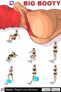 Fitness Workouts, Summer Body Workouts, Full Body Gym Workout, Gym Workout Videos, Gym Workout For Beginners, Fitness Workout For Women, Hip Workout, Fun Workouts, Big Ass Workouts