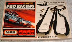 TYCO PRO: 1975 Championship Lighted Pro Racing Set #Vintage #Toys