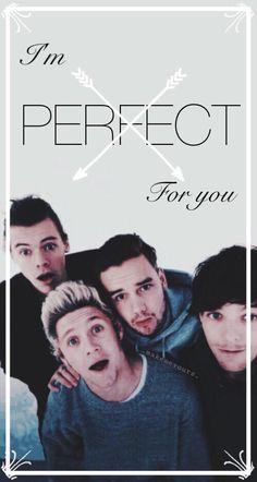 Lockscreen. Perfect - One Direction