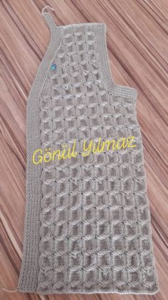 Women's Vest Models 20 Most Beautiful Knitting Model Diy Crafts Knitting, Knitting Blogs, Sweater Knitting Patterns, Free Knitting, Baby Knitting, Crochet Projects, Diy Crochet, Crochet Baby, Easy Hobbies