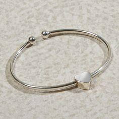 Heart Bracelet Cremation Jewelry