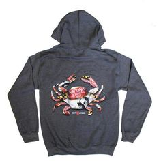 8aaccef1a Natty Boh Can Crab (Dark Heather) / Hoodie. Natty Boh. Route One Apparel