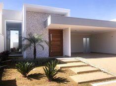 Single Floor House Design, House Front Design, Small House Design, Modern House Design, Facade Architecture, Amazing Architecture, Architecture Definition, Network Architecture, Minecraft Architecture