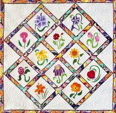 Sew Simple Flowers