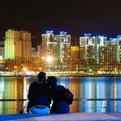 What a beautiful view of Chitgar lake at night . Location: city of Tehran - City Skyline Night, Shirt Printer, Iran Travel, Tehran Iran, Hd Picture, New York Skyline, Cities, Tourism, Country