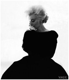 Marilyn Monroe. Photographed by Bert Stern, Vogue, 1962.