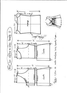 Patrón de esta maravillosa blusa con manga larga y abertura en el hombro. Es una blusa muy bonita e original, genial para todo tipo de tallas y cuerpos. Encontraras Tallas desde la XS hasta la XXXL…