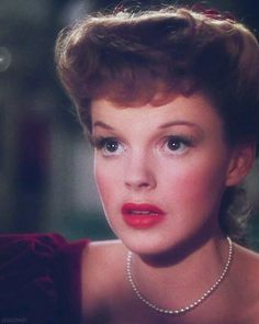 "Judy Garland in ""Meet Me In Saint Louis"" via We Had Faces Then"