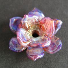 Handmade Lampwork Boro Glass Bead by GemFOX Sculptural by GemFOX, $20.20