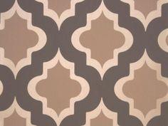 Metallic Geometric Wallpaper | ... espresso brown geometric wallpaper is stylish luxurious wallpaper with