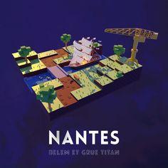 Premier projet 3d sur Blender réalisé avec Marie-Hélène Rots Blender, Titans, 3d, Movie Posters, Movies, Nantes, Films, Film Poster, Cinema