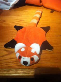 Red panda beanie finished. by ~nathanenns on deviantART