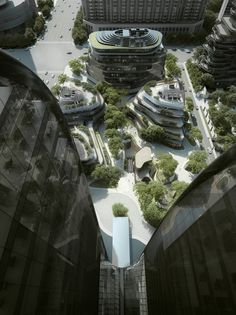 """MAD Breaks Ground on Proposal that Redefines Beijing's """"City Landscape"""""""